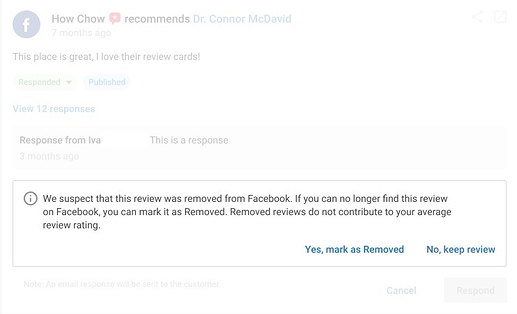 Deleted Review
